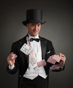 magician juggle map