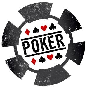 poker chip stamp